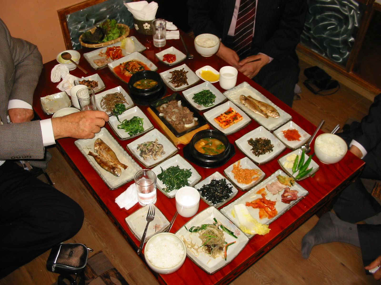 Korean food journalist on the run for Authentic korean cuisine