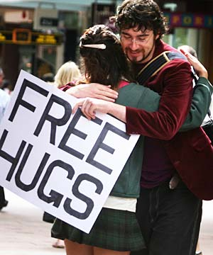 Free Hugs Campaign - Official Page (music by Sick Puppies ...