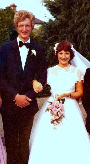 Mum and Dad on their Wedding Day; 22nd August, 1981