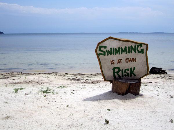 Don't go swimming after magic tea