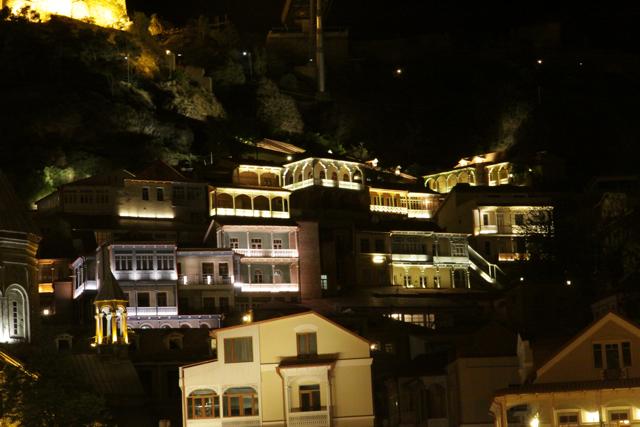 Twinkling Twilight in Tbilisi (1/6)