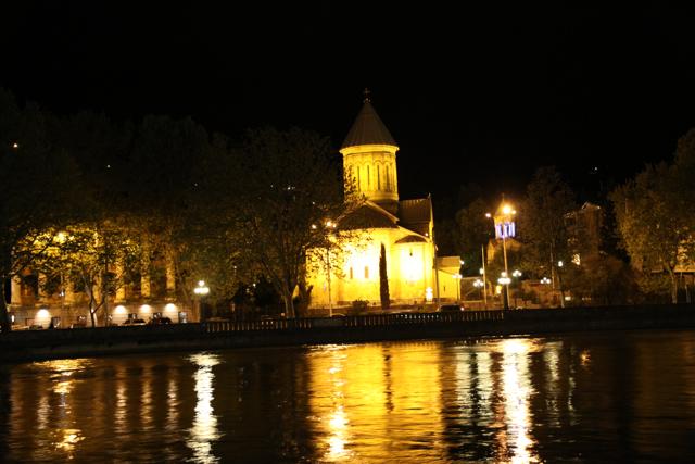 Twinkling Twilight in Tbilisi (6/6)