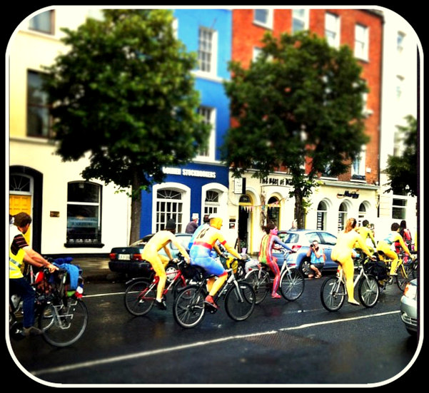 cork naked bike ride