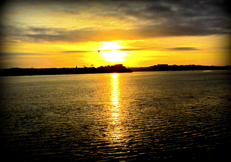 cork sunset