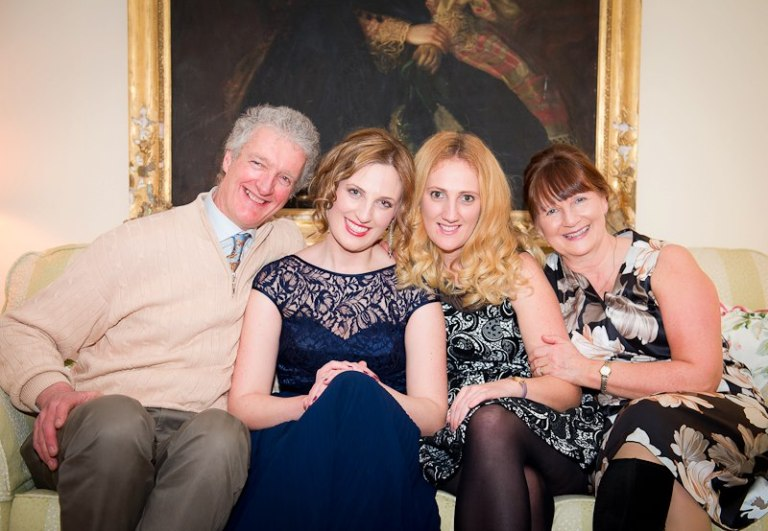 Family Portrait: Dad, Pam, Me and Mum.