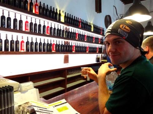 wine tasting le geria