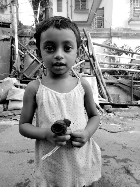 indian child calcutta