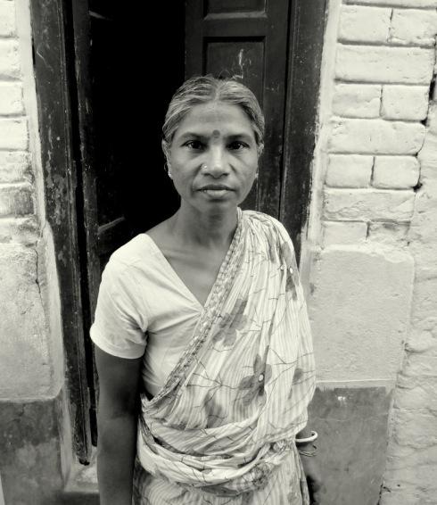 old woman calcutta