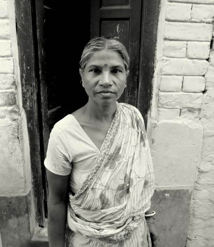 old woman calcutta