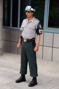 Soldier in the JSA, North / South Korea