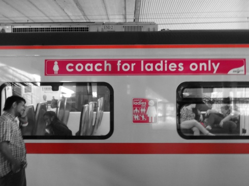 "Getting there - Coach for ""Ladies Only!!"""