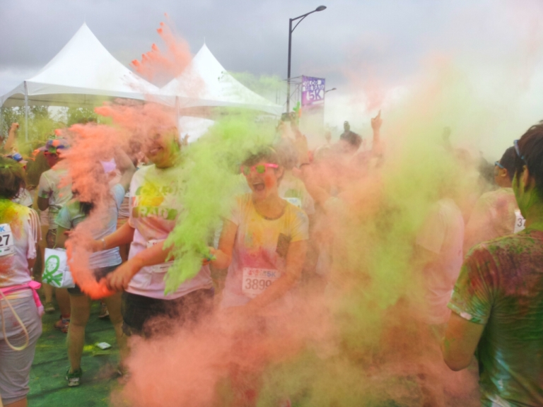 color  run korea