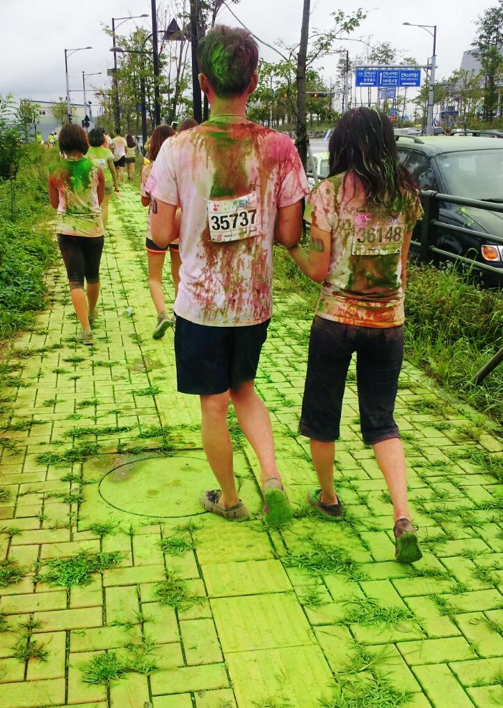 walking the race