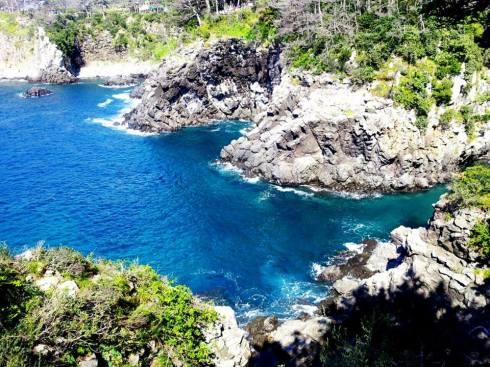 Beautiful coastal trail on the South Western Coast