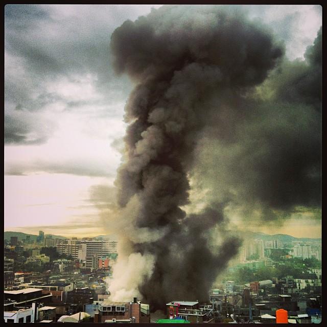 fire itaewon seoul