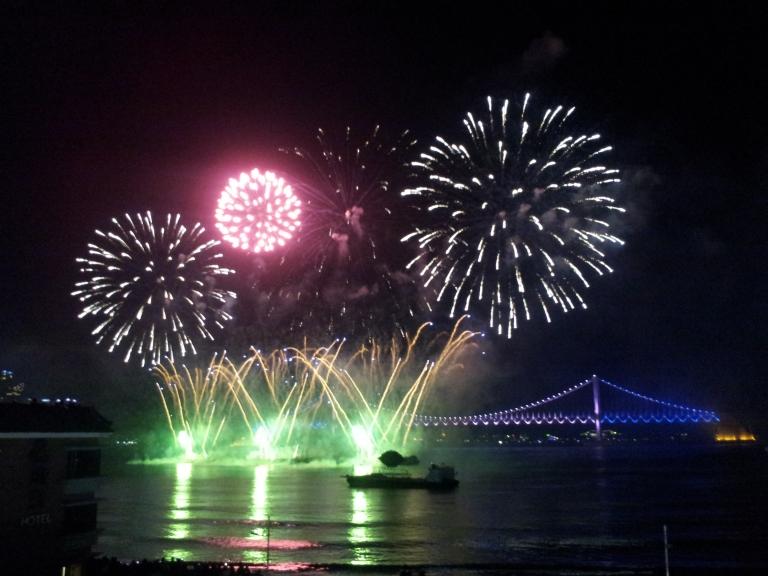 fireworks festival busan korea