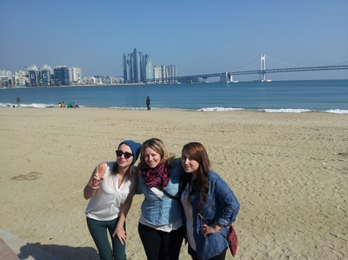 Some quality beach time in the sun before heading back to Seoul
