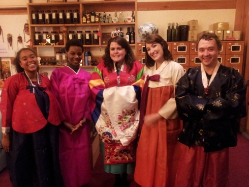 hanbok korea clothes