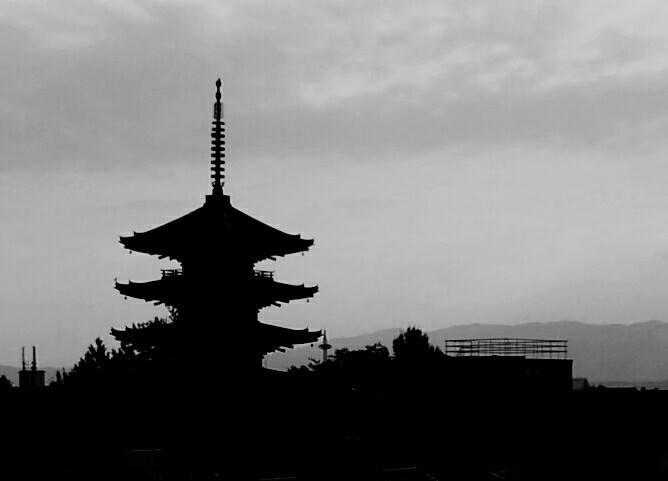 temple pagoda kyoto