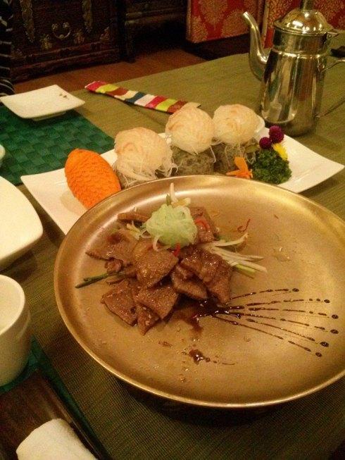 Delicious Korean Food.