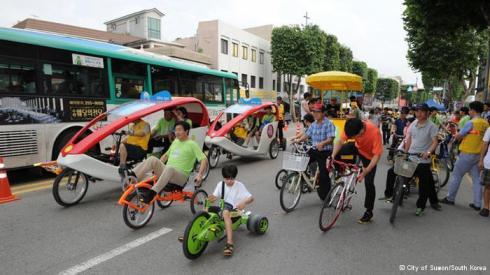 Suwon - The world's first EcoMobile Village