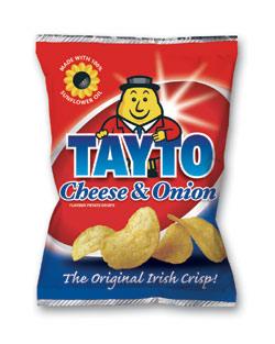 Tayto Crisps - Best crisps in the world