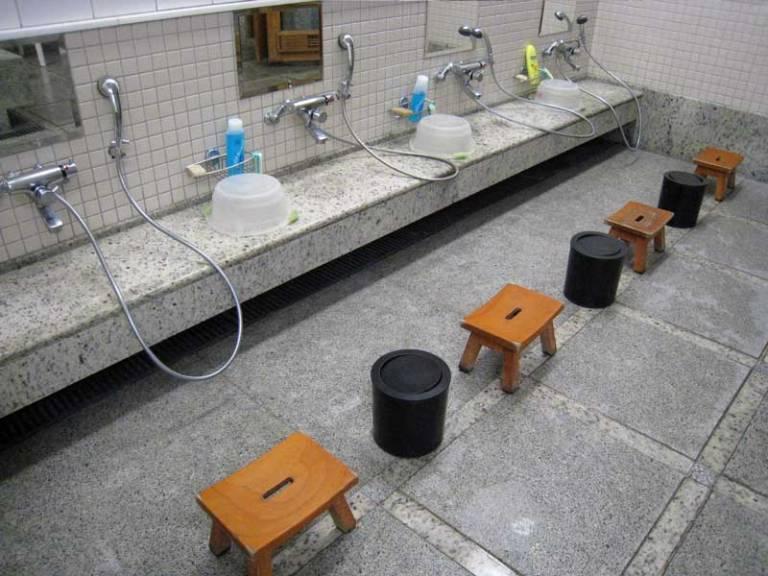 washing korean sauna