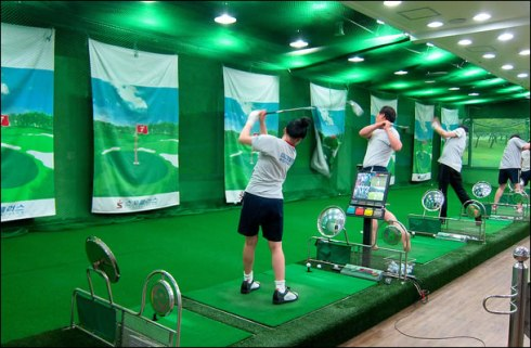 screen golf korea
