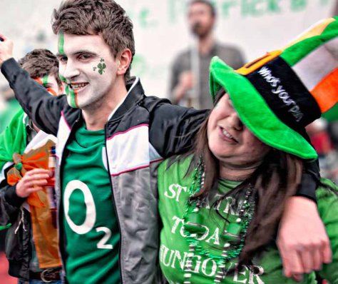 st patricks day seoul korea