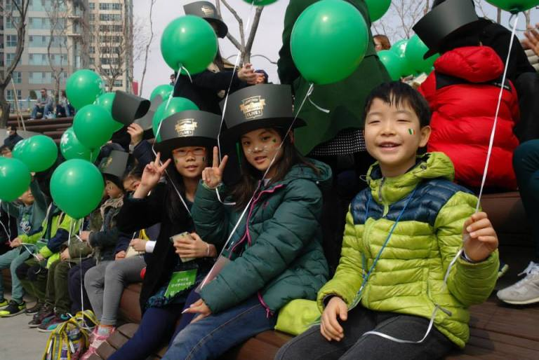It was great to see so many Korean kids enjoying the festival. Photo by Michelle Marie Jenkins