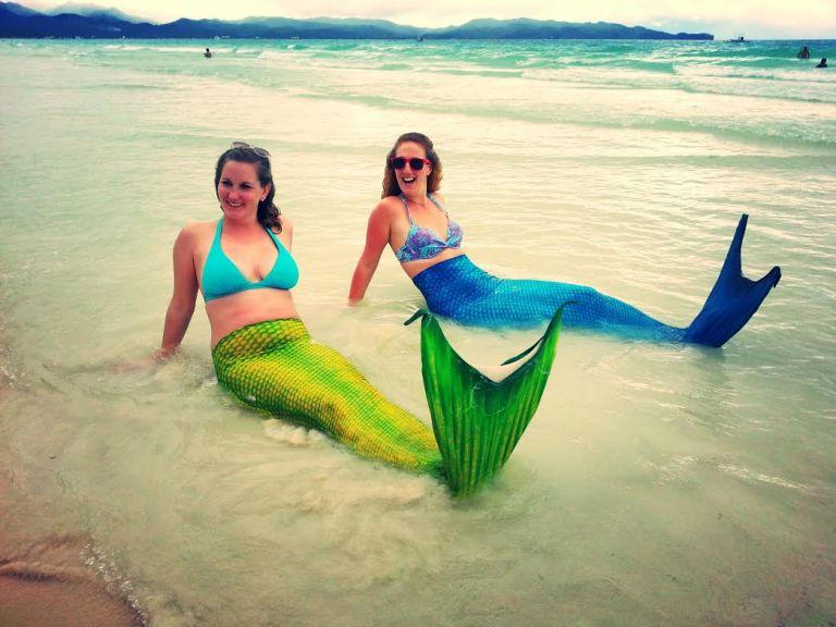 mermaids boracay