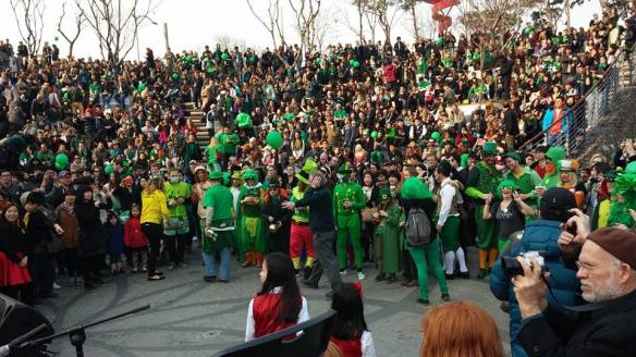 A snapsot of the colorful crowd. Photo by Stephanie Anglemyer