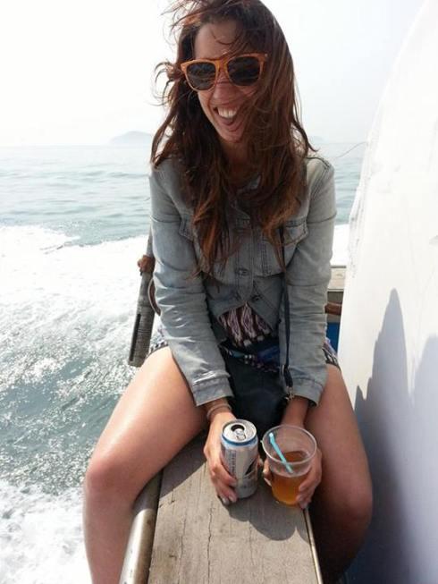 boat drinking