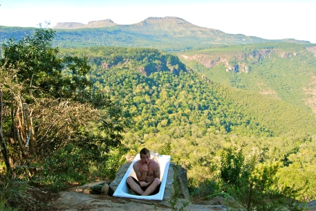 outdoor bath hogsback