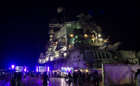 air craft carrier party